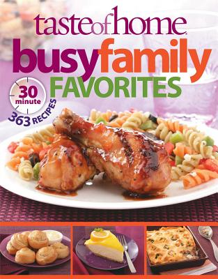 Busy Family Favorites By Taste of Home (COR)